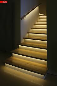 led staircase accent lighting contemporary staircase st