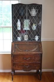 Antique Curio Cabinet With Desk Antique Desk Hutch Ebay