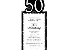 surprise 50th birthday invitation image collections invitation