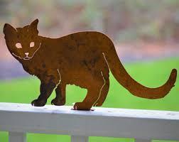 metal cat etsy