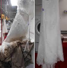 wedding dress restoration before after wedding dress restoration gallery