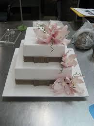 2 tier square wedding cake cakecentral com