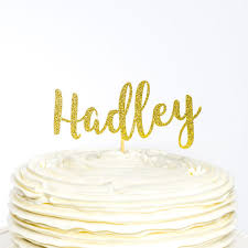 name cake toppers custom name cake topper name cake topper birthday topper
