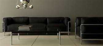 exceptional canape le corbusier lc3 3 fauteuil lc3 le corbusier