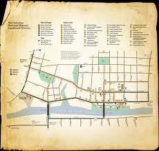 Louisiana Rivers Map Cane River National Historic Landmark District Map Cane River