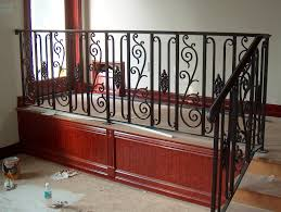 Wrought Iron Banister Rails Porch And Step Rails