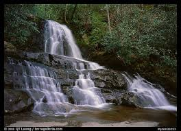 Tennessee national parks images Large format picture photo laurel falls tennessee great smoky jpeg