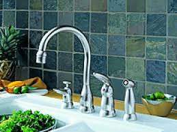 kitchen delta automatic faucet delta kitchen faucets white glass