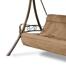 Swings For Patios With Canopy Replacement Swing Cushions Garden Winds