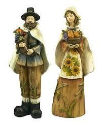 thanksgiving pilgrim statues fitz and floyd harvest heritage pilgrim and figurine