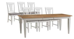 hutch harbury light grey painted extending dining table u0026 6 chairs