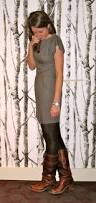 leggings with boots look kookai dress spanx tights frye boots