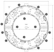 Earth Berm House Plans Torus House Floorplan Natural Building Blog