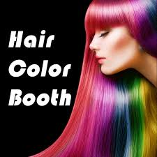 hair style photo booth hair color booth pro change hair styles to blonde brunette brown