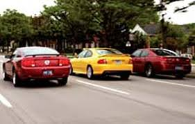 gto mustang 2006 dodge charger r t 2005 ford mustang gt and 2005 ponitac gto