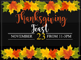 thanksgiving thanksgiving feast candlestone golf resort belding