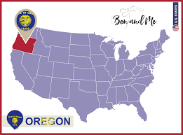 Oregon Lighthouse Map by Notebooking Across The Usa Oregon Unit Study Ben And Me