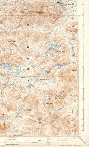 Lake Pleasant Map West Canada Lakes Ny Quadrangle