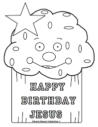 happy birthday jesus coloring page download coloring pages 9753