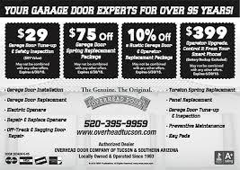Overhead Door Tucson Rsvp Tucson Overhead Door