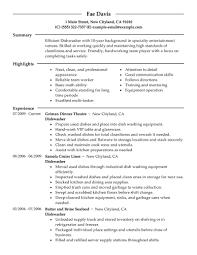 Branding Statement For Resume Sle Resume For Dishwasher 28 Images 100 To Civilian Resume