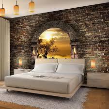 schlafzimmer fototapete vlies fototapete tropical sunset fesches schlafzimmer
