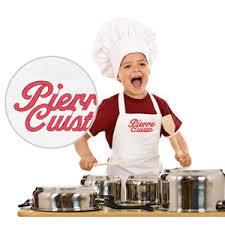 tablier de cuisine enfant personnalisé de cuisine enfant blanc brodé à personnaliser