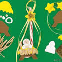 religious ornament craft kit crafts for