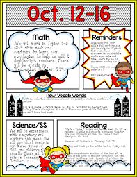 superhero theme newsletter templates u2013 editable headings u0026 text