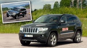 green jeep grand cherokee how jeep grand cherokee failed the evasive maneuver test bil och
