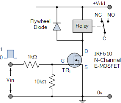relay switch circuit and relay switching circuit