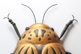 Sculpture For Home Decor by Beetle Bug Wall Art Forwood Design