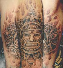 amazing aztec tattoo photos pictures and sketches tattoo