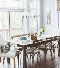 dining room end chairs impressive thayer tufted wingback chair pottery barn within dining