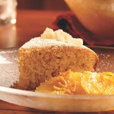 ginger citrus ginger cake with spiced orange compote recipe eatingwell