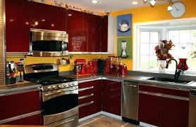 black kitchen decorating ideas yellow kitchen decor webstechadsweb site