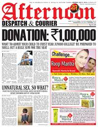 21 july 2014 by afternoon despatch u0026 courier issuu
