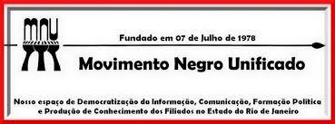 Popular MNU RJ - Movimento Negro Unificado Seção Rio de Janeiro &LC74