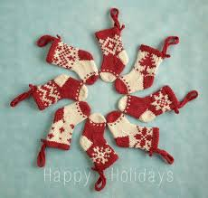 mini ornament knitting pattern by julie williams