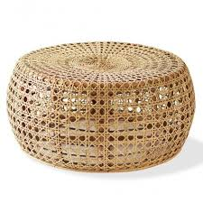 Wicker Accent Table Rattan Collection Vivaterra Coffee Table Pinterest