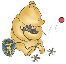 classic winnie pooh clipart