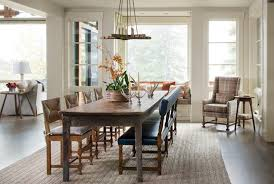 stunning dining room table with a bench photos home design ideas