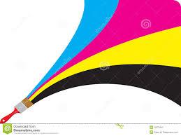 Cmyk Spectrum Cmyk Dots Stock Photography Image 4294312