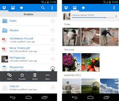 dropbox app for android dropbox updates android app with bug fixes and file management