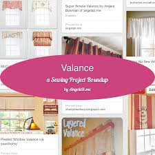 Making A Window Valance How To Make A Valance U2013 A Sewing Project Roundup Angelab Me