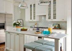 kitchen with large island interior house plan