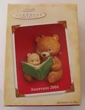 2004 hallmark adoption ornament ebay