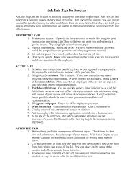 resume for a job fair federal resume sample and format the resume