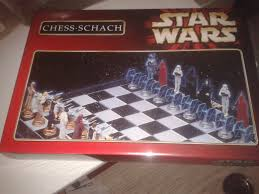 star wars chess schach sealed boardgame unopened a la carte