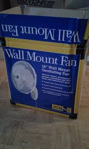 ecoplus wall mount fan new ecoplus oscillating 16 inch fan 736505 hydroponics general